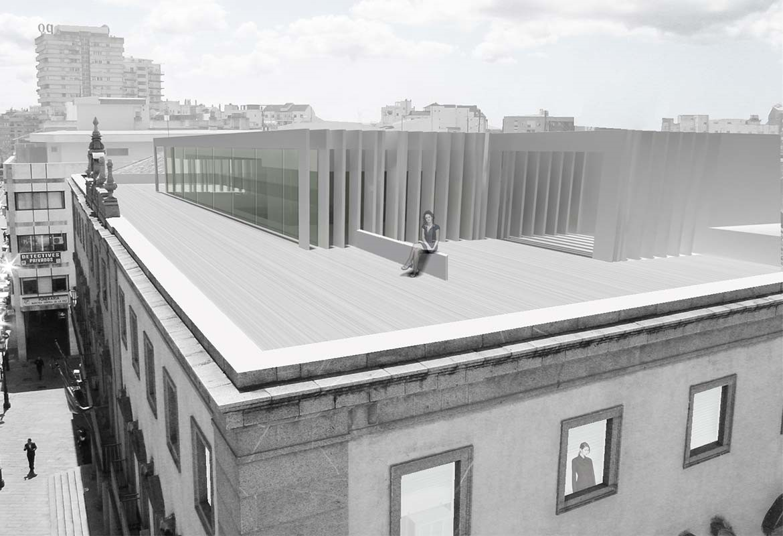 Rehabilitaci n antigua sede de hacienda sv60 cordon for Oficinas hacienda valencia
