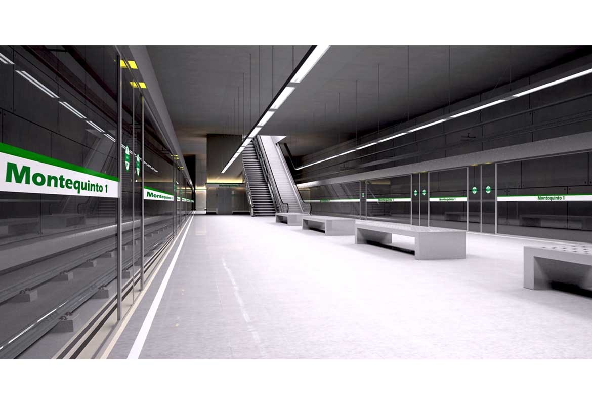 Subway Stations (Interior Architecture)