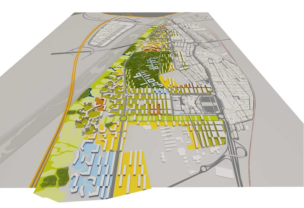 "Masterplan ""Cortijo del Cuarto"" for 5.000 Housing Units"