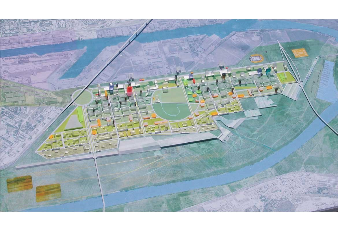 "Masterplan ""Área de Tablada"" for 25.000 Housing Units"